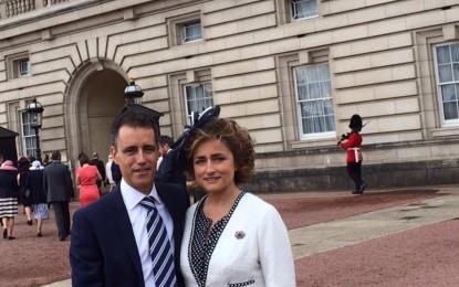 García representa al Gobierno en el Palacio de Buckingham