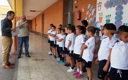 """El Colegio Santa Ana vence en el concurso de la oferta educativa """"cruces de mayo"""""""