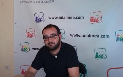 """Manuel Sánchez, de IU, dice que la gestión de Espada con Somdeco ha sido """"nefasta"""""""