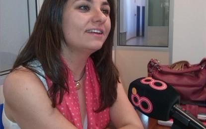 Aurora Camacho, satisfecha tras la reunión desarrollada con Betania