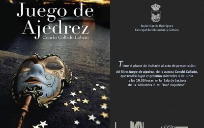"""Este miércoles, presentación del libro """"Juego de Ajedrez"""""""