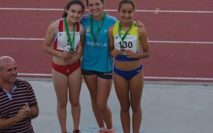 Podio para Marta García Trevijano en el Andaluz de Atletismo