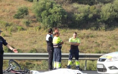 Muere un ciclista en el cruce del Toril