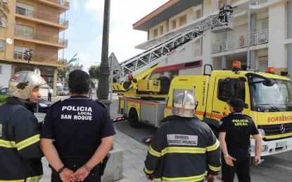 Juan Manuel Ordoñez lamenta el primer incendio del verano