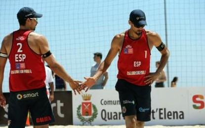 Herrera y Gavira, en octavos en Cagliari