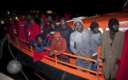 Interceptados siete inmigrantes en el Estrecho de Gibraltar