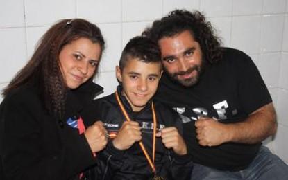 Manuel Gómez se proclama campeón de España con CERKT en Kickboxing