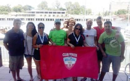 El Club Natación San Roque termina exitosamente el campeonato de Andalucía de aguas abiertas