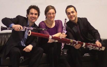 Mañana, sábado, viaje musical de Mozart a Gershwin de la mano del Trío Ágora