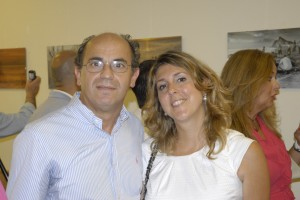 Loren Periáñez y Belén Serrano