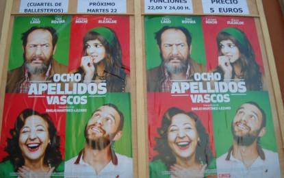 La película española más taquillera del año, 'Ocho apellidos vascos', disponible desde hoy en el cine de verano
