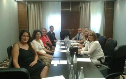 Ascteg y varios colectivos más se reúnen con los inspectores de la UE