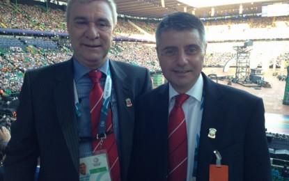 Los Ministros Licudi y Linares acuden a los Juegos de la Commonwealth