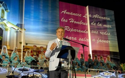Sonido íntegro del pregón de Juan Antonio Valle Lima en la Coronación de anoche