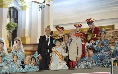 Sonido de la Reina infantil, Diana Quintero, que deseo una feliz Feria a todos los niños