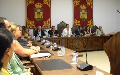 Pleno extraordinario para tratar la Modificación del convencio suscrito entre el Ayuntamiento y la Mancomunidad de Municipios del Campo de Gibraltar