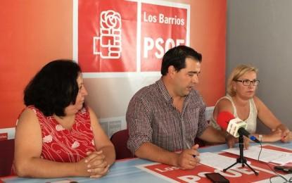 El PSOE de Los Barrios acusa a Romero de ocultar información al pleno y retrasar el pago de los complementos por baja a los trabajadores