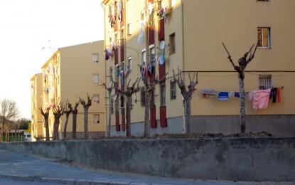 Acondicionamiento de espacios públicos en la calle Virgen de La Luz