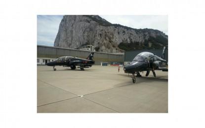 Vuelo de exhibición de la RAF en conmemoración de la Batalla de Inglaterra