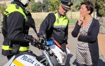 Controles policiales al tráfico rodado para concienciar sobre el uso del cinturón de seguridad
