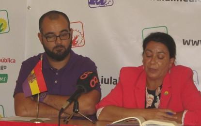 Cefe Peño, candidata de IU en La Línea con el 90 por ciento de los apoyos