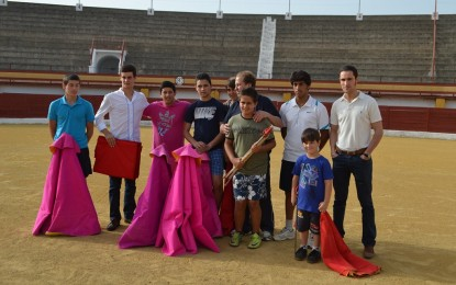 Javier García, Antonio Caba y Juan Carlos Landrove estarán este martes en la presentación de la competición provincial de las escuelas taurinas