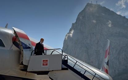 El Príncipe de Kent visita Gibraltar
