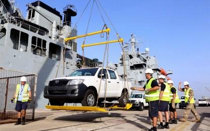 El envío vital de vehículos para la lucha contra el ébola destaca la importancia estratégica de Gibraltar
