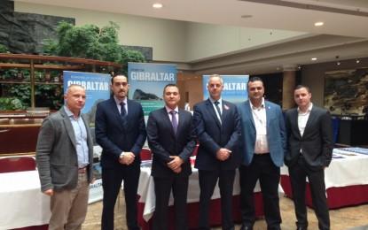La delegación de la Autoridad Portuaria de Gibraltar asiste a un importante evento internacional sobre bunkering en Alemania