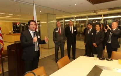 El Gobierno respalda la constitución de la AMCHAM Gibraltar