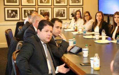 El Ministro Principal acude a un encuentro con estudiantes en Washington