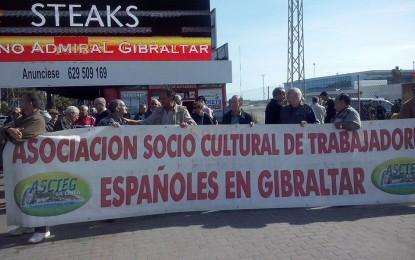 Ascteg y Frontera Humanitaria frenan la manifestación fascista en Gibraltar