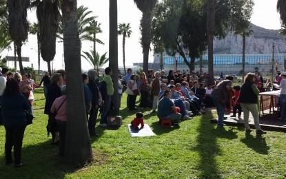 Los Locos del Parque congregan a más de 1.000 personas en su Domingo Literario