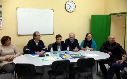 La alcaldesa y una nutrida representación del equipo municipal de Gobierno visitaron San Bernardo
