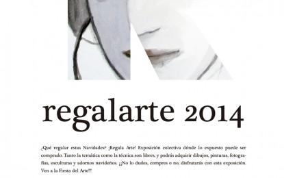 La actual edición de la exposición Regalarte, la que más ha vendido de todas las celebradas