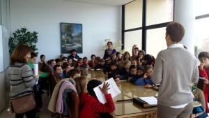 Visita colegio Huerta Fava