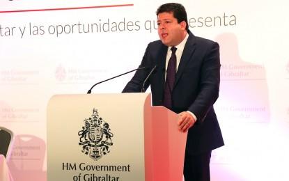 Picardo afirma que Gibraltar seguirá siendo británico pese a lo expuesto en el borrador del Consejo Europeo