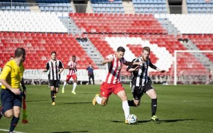 Duro varapalo para la Balona que pierde ante el Almería B (4-0)