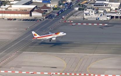 El Aeropuerto de Gibraltar experimentó un crecimiento del 23,4 % en el número de pasajeros en 2016 respecto de 2015