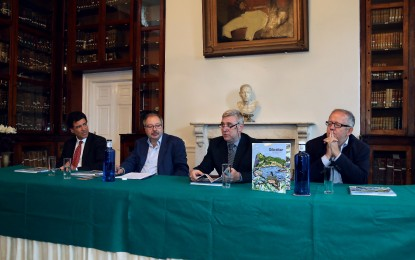 Presentación del libro 'Gibraltar Open Spaces', en Gibraltar