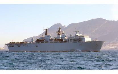 El buque insignia de la Royal Navy atracará en Gibraltar