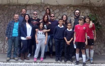 """Miguel Becerra mantuvo el primer encuentro con los actores seleccionados para su película """" Aberration"""""""