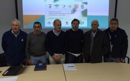 Presentación de la liga solidaria de futbolistas veteranos