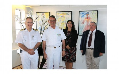 El puerto de Gibraltar consolida su liderazgo con la décima escala inaugural de un crucero en 2015