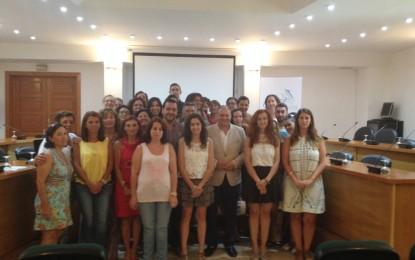 Se clausuran en Los Barrios dos acciones formativas de Crece Empleo de la Diputación con 24 beneficiarios