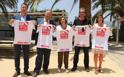 Diputación de Cádiz respalda el Campeonato del Mundo de Kitesurf, este mes en Tarifa