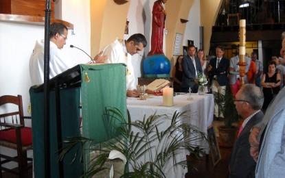Emotiva misa en la Parroquia de la Virgen del Carmen
