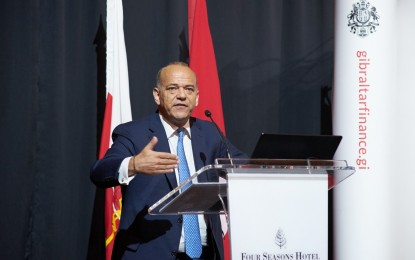 Gibraltar promociona su oferta de servicios financieros, bunkering y juego online en Londres y Zúrich
