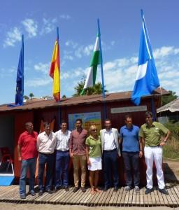 bandera azul Alcaidesa