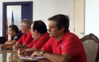 Helenio Lucas Fernández informa a  Ascteg de las gestiones municipales relacionadas con Gibraltar